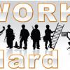 Phrasal Verbs đồng nghĩa WORK HARD