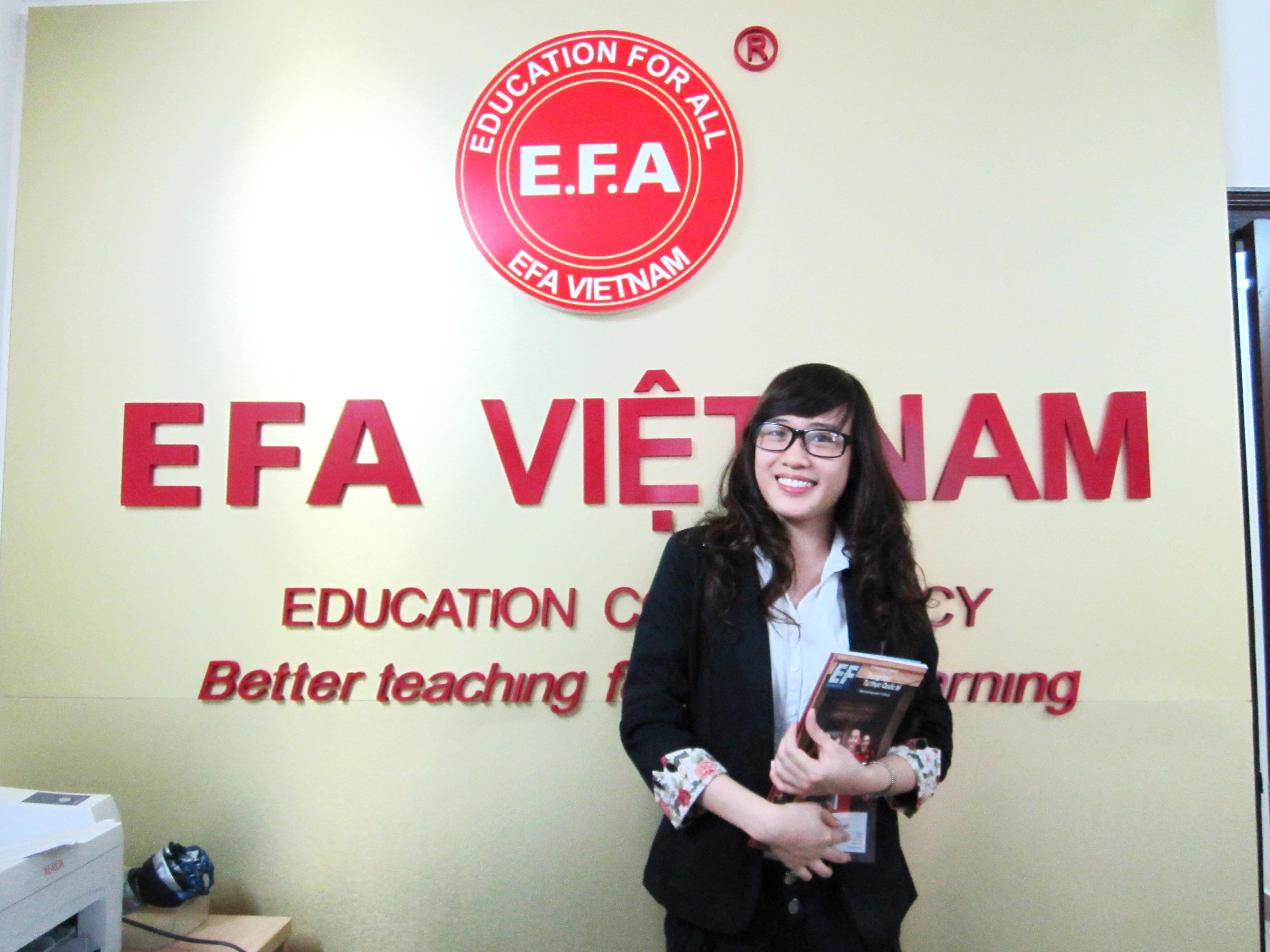 trung tam anh ngu, ngoai ngu ha noi EFA Vietnam