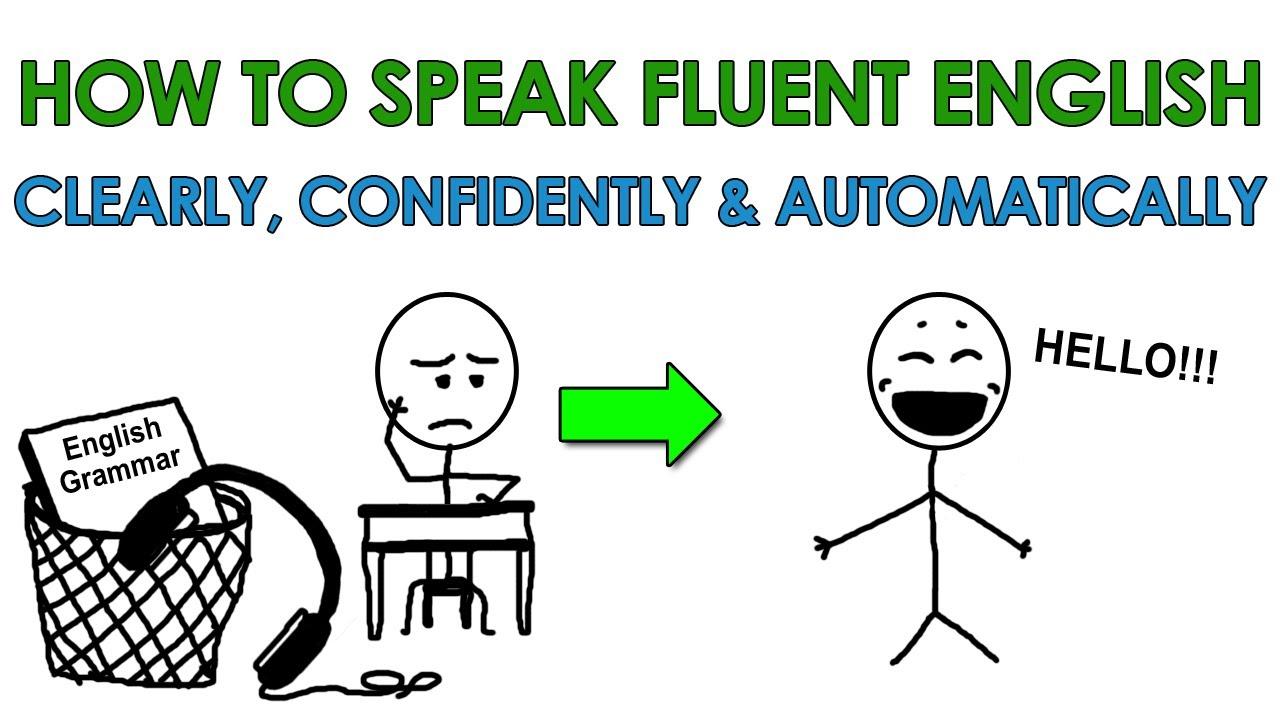 bí quyết nói tiếng Anh lưu loát