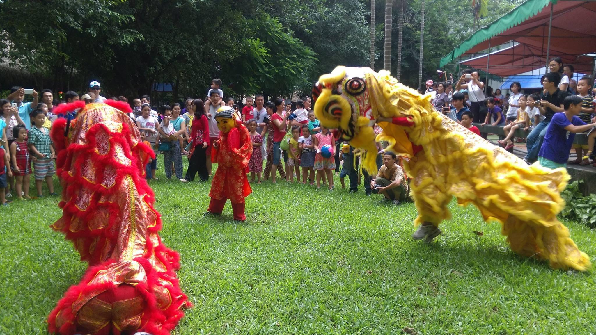 Vui chơi ngày Tết tại Bảo tàng dân tộc học Việt Nam